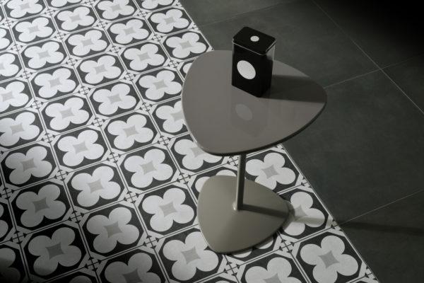 Ceramica-Fioranese_Cementine-Black&White_B&W_4+Blend-Gomma-60x60