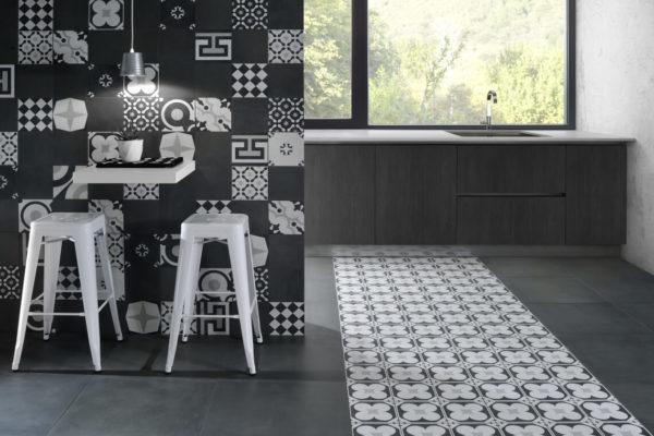 Ceramica-Fioranese_Cementine-Black&White_Mix+B&W-4+Blend-Gomma-60x60-20x20_1