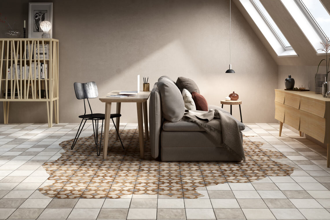 Tendenze geometriche per l home decor lifetiles il digital