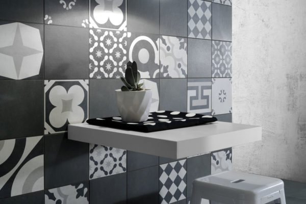 Ceramica-Fioranese_Cementine-Black&White_Mix+B&W-4+Blend-Gomma-60x60-20x20_2