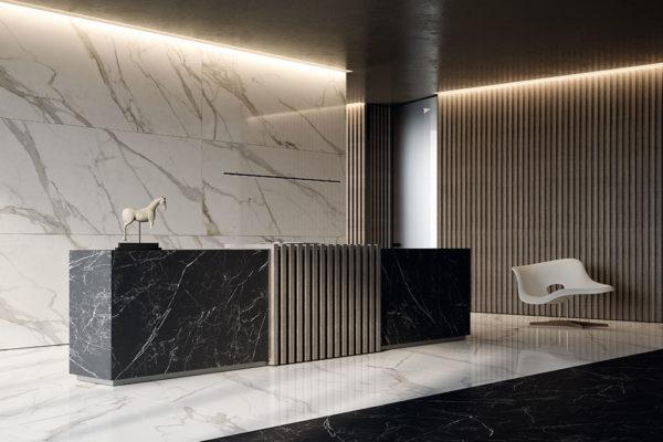 pavimenti-per-interni_Ceramiche-Coem_Wide-Gres-260_Calacatta-Effect-120x260_Port-Laurent-Effect-120x260